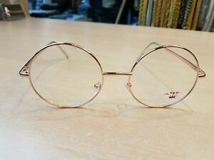 aa29f4ef0c Round Lens Metal Frame Sunglasses John Lennon 60s Harry Potter Retro ...