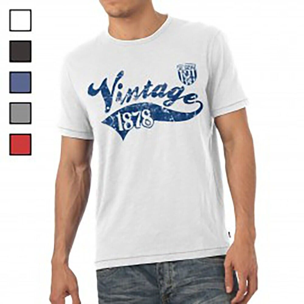 West Bromwich Albion F.C - Personalised Mens T-Shirt (VINTAGE)