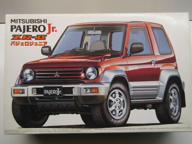 Fujimi 1 24 Scale Mitsubishi Pajero Jnr ZR-ll Model Kit - New - Item
