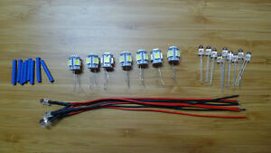 20-x-LED-Lamps-Kenwood-KR-9600-lamp-bulb-lights-FULL-SET-EXTRAS