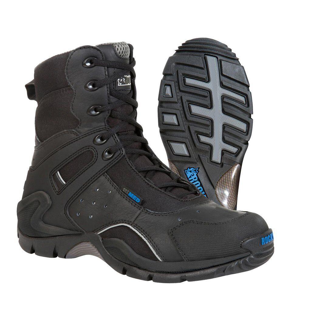 Rocky 911113 Damens/Youth Waterproof Composite Toe Side Zip Safety Stiefel--3.5UK