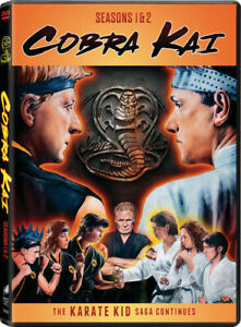 Cobra-Kai-Seasons-1-amp-2-New-DVD-2-Pack
