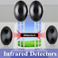 Beam-Barrier-Detector-Infrared-Sensor-Burglar-Alarm-System-Door-Window-Alarm-US thumbnail 2
