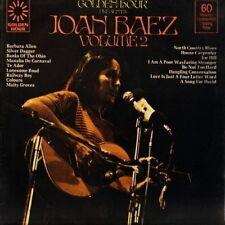 """12"""" Joan Baez Golden Hour Volume 2 (Banks Of The Ohio) 70`s"""