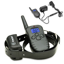 Electric Rechargeable Waterproof Shock Training E-Collar For Medium Large Dogs