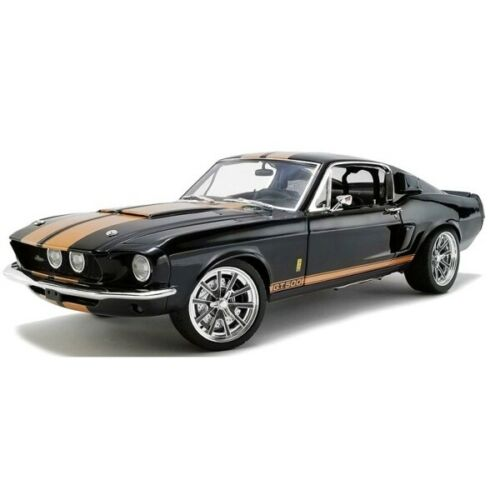 Ford Mustang Shelby GT500 Streetfighter 1967 Black Gold 1//18 A1801837 ACME