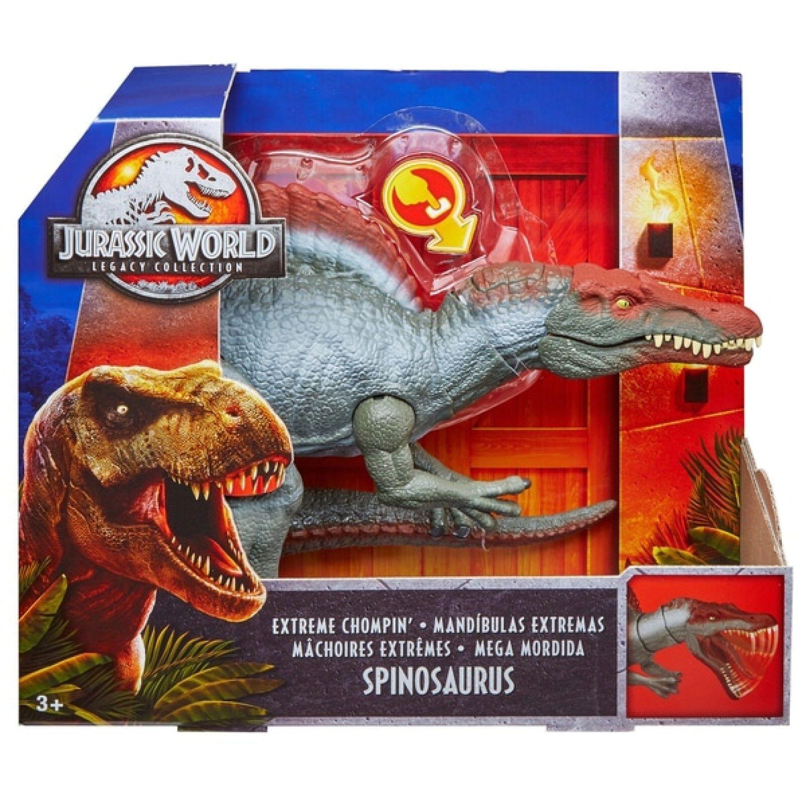 Jurassic park iii der welt spinosaurus actionfigur kinder spielzeug zahlen - sammlung
