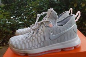 f59c56b5de13 Nike Zoom KD 9 IX LMTD PRE-HEAT Wolf Grey Multi Color sz 11 Durant ...