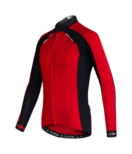 Funkier Talana Thermal Long Sleeve Jersey Red Black