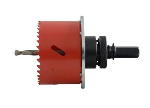 HSS-Bi-Metall Lochsäge mit Lochrandversenker für Hohlwanddosen