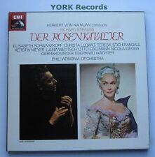 SLS 810 - STRAUSS - Der Rosenkavalier KARAJAN - Ex Con 4 LP Record Box Set
