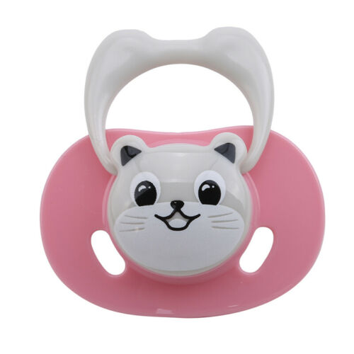 Newborn Nipple Soother Pacifier Infant Animals Pattern Dummy Silicone Teether 6A