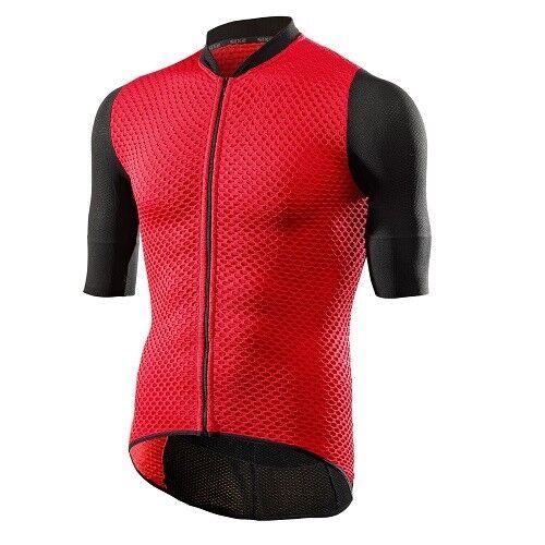 T-shirt Jersey T-Shirt Fahrrad Radsport SIXS rot 100% Italien HIVE Jersey