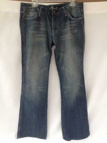 Seven 31 Wash Pocket Medium Flare A For Mankind Femme 7 Jeans Taille All 886992022486 1Fzqddw