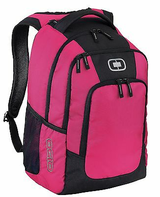 "OGIO Logan Pack 15"" Laptop / MacBook Pro Pink Backpack / 27.9L Daypack - New"
