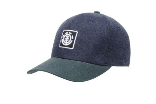 ELEMENT MENS CAP.NEW TREELOGO BLACK BASEBALL CURVED PEAK ADJUSTABLE HAT 8S A4 41