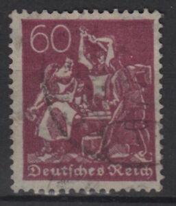 DEUTSCHES-REICH-Mi-184-gestempelt-geprueft-INFLA-ansehen-MW-26-U119-1