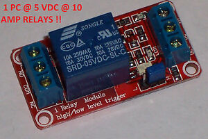 2 PCS USA 1 CHANNEL HIGH//LOW LEVEL INPUT OPTO RELAY BOARD NEW! 12VDC