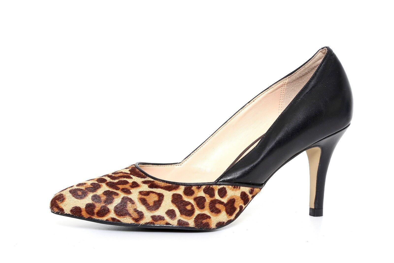 Cole Haan mujer mujer mujer en punta de impresión de guepardo bomba 2683 tamaño 7B  venta al por mayor barato