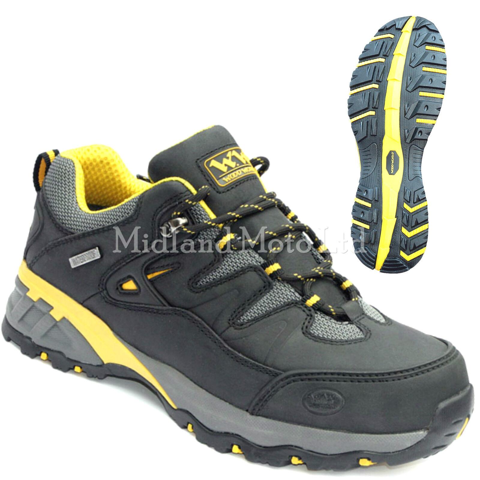 Wood World Waterproof  Steel Toe Cap Safety Trainers Size 6-14, 40-48 WW7Lo-P