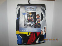 Kingdom Hearts Cover Art Super Plush And Comfy Throw Blanket