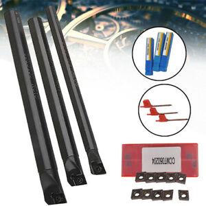 Sclcr-Destra-Tornio-Barra-Perforare-Supporto-CCMT0602-Inserti-Carburo-Parti