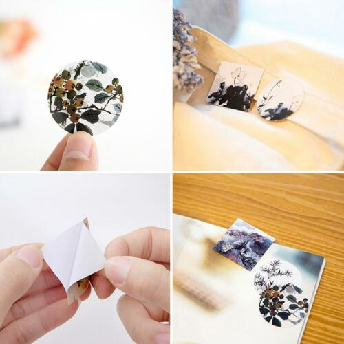40pcs Paper Sticker Decor DIY Chinese Style Scrapbooking Stationery Stickers