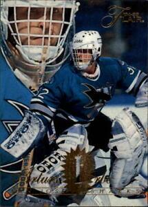 1994-95-Flair-Sharks-Hockey-Card-166-Arturs-Irbe