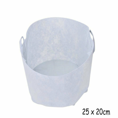 Round Fabric Pots Plant Pouch Root Container Grow Bag Aeration Container handles