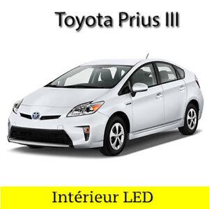 Kit-ampoules-a-LED-pour-l-039-interieur-plaque-veilleuses-Toyota-Prius-3