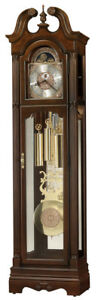 Howard-Miller-611-262-Wellston-Traditional-Cherry-Grandfather-Clock-611262