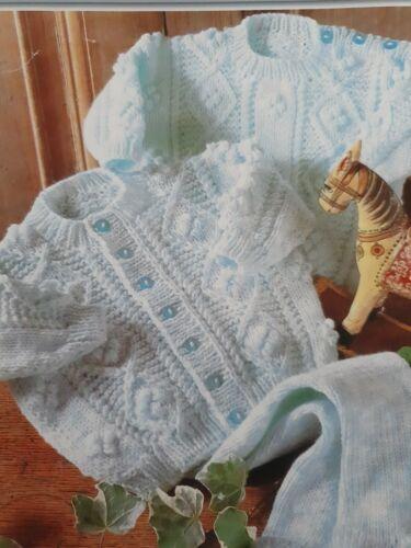 DK TRICOT MODÈLE 18-24 in environ 60.96 cm pull cardigan legging 17