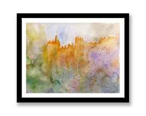 Castle-watercolour-abstract-painting-unique-gift-Print-ID-259