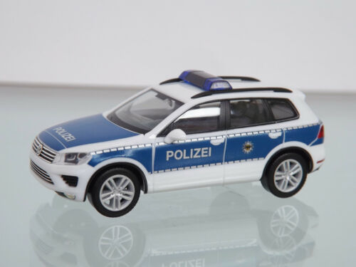 "VW Touareg /""Bundespolizei/"" NEU in OVP Herpa 093637-1:87"