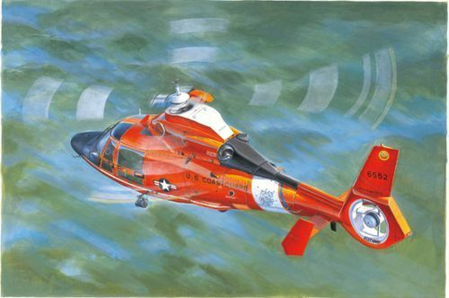 Trumpeter 1 35 USN Coast Guard HH-65C Dolphin