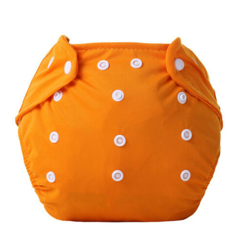 Baby Kids Toddler Reusable Nappies Adjustable Size Diaper Washable Cloth Diaper