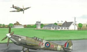 Pembrey Airport, Carmarthenshire - Greetings Card - Tony Paultyn