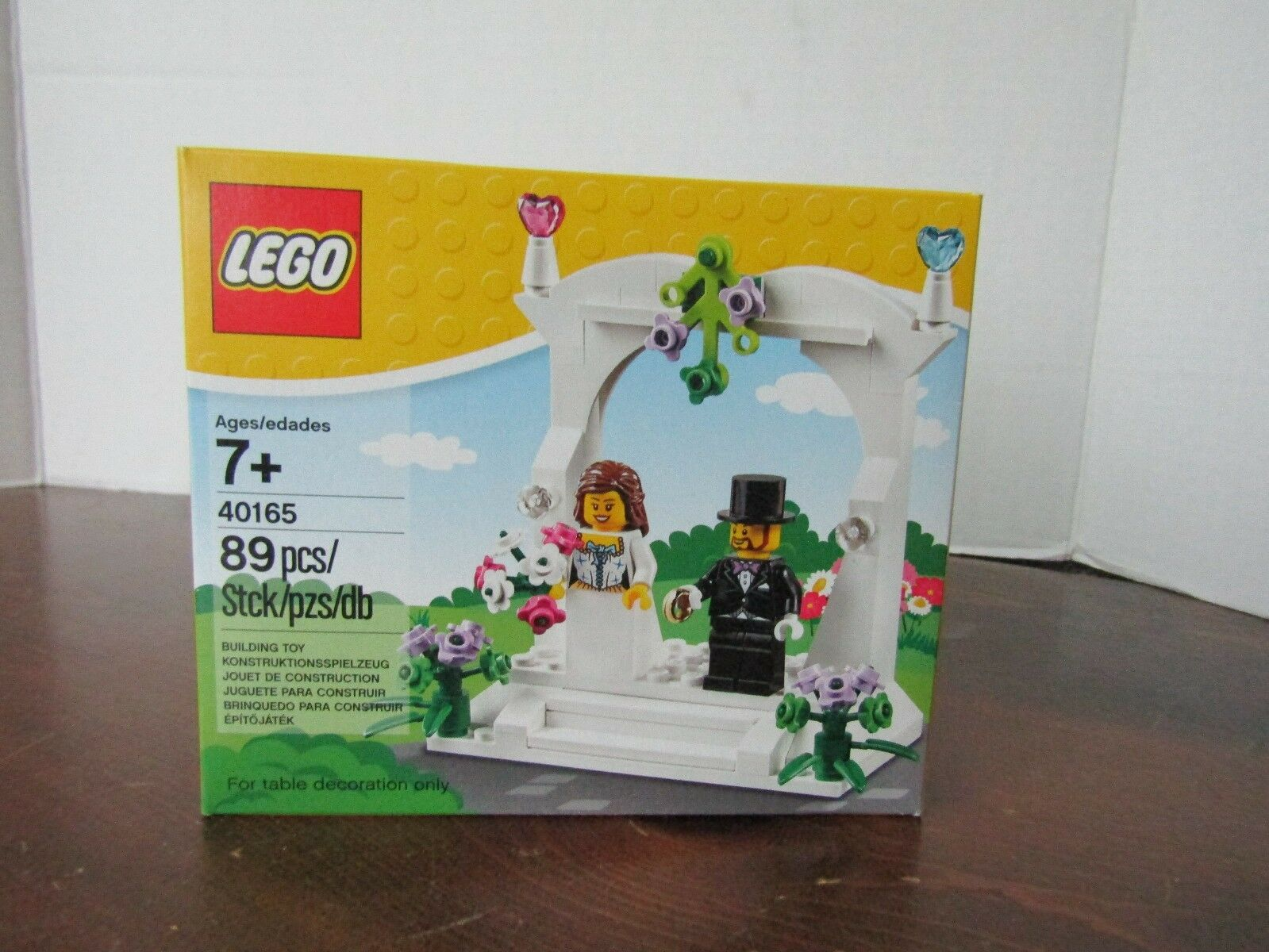 Lego Hochzeitstorte Topper 40165 Bnib Bnib 40165 7bd462