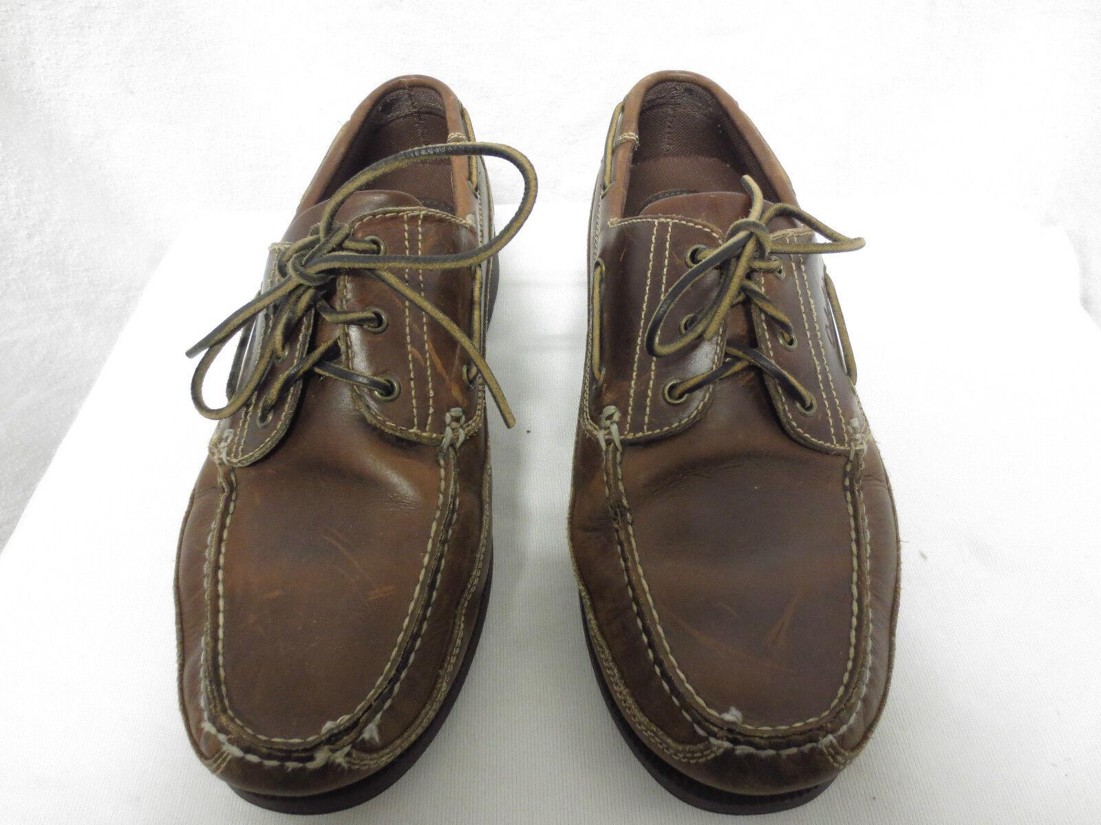Cabela's Brown Boat shoes Sz 14