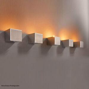 Wand Teelichthalter Cube 5er Set Edelstahl Kerzenhalter   eBay