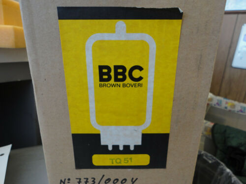 Free Ship Used Brown Boveri BBC TQ 51 Vacuum Tube