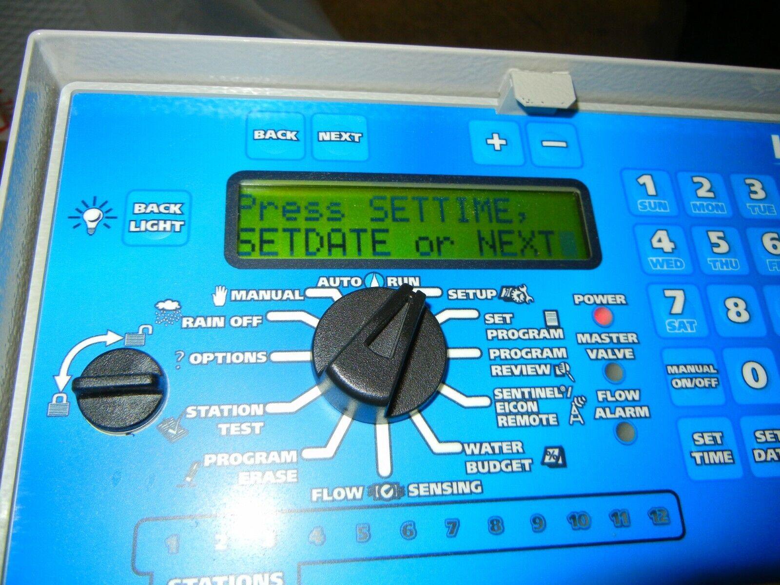 Irritrol MC-8E (Blue) 8 Station Indoor Outdoor Controller MC-E Sprinkler Timer