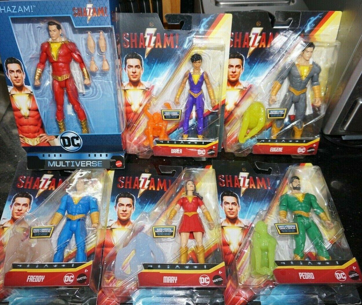 DC Multiverse 6  qué demonios  película familia Billy Frojody Eugene darla Mary Pedro Set