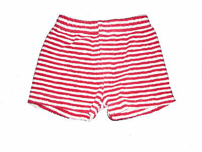 Candid Cocoon Tolle Frotteeartige Shorts Gr 56 Rot-weiß Gestreift ! Let Our Commodities Go To The World