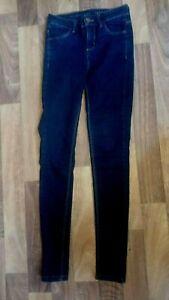Oasis-women-s-dark-blue-denim-Skinny-jeans-stretch-Size-8-L-30