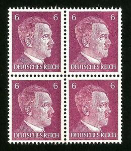 DR-Nazi-3rd-Reich-Rare-WW2-Service-Stamp-1942-Adolf-Hitler-039-s-Head-NSDAP-Official