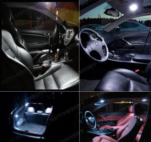 12 x Premium Xenon White LED Lights Interior Package Upgrade for Ford Explorer