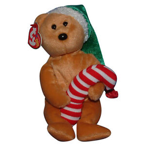 Ty Beanie Baby Tasty - MWMT (Bear 2005) Christmas