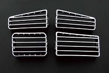 VW Golf MK3 3 MK4 4 RHD Cabrio Cromo Dash Board Calentador de flujo de aire RESPIRADEROS Ralla