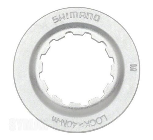 Shimano Centerlock Rotor Lock-Ring Silver